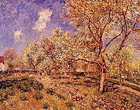 Spring at Veneux, 1880, sisley