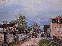 Street in Veneux, 1883, sisley