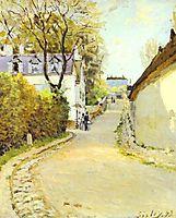 Street in Ville d Avray, 1873, sisley