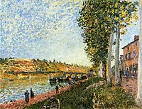 Sunrise at Saint Mammes, 1880, sisley