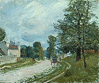 A Turn in the Road, 1885, sisley