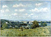 Valley of the Seine at Saint Cloud, 1875, sisley