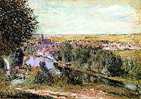 View of Moret, 1880, sisley