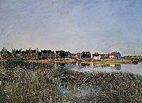 View of Saint Mammes, 1881, sisley