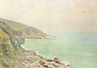 Welsh Coast in the fog, 1887, sisley