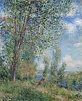 Windy Afternoon in May, c.1880, sisley