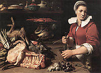 Cook With Food, c.1630, snyders