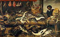 The Fish Market, 1618, snyders