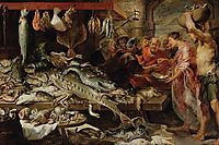 Fish market, 1621, snyders