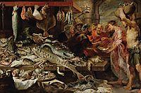 Fish market, 1621, snyders