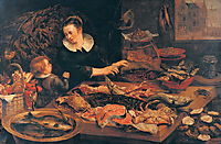 Fish-shop, c.1616, snyders