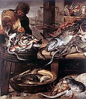 The Fishmonger, 1657, snyders