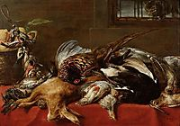 Hunting still life, snyders