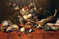 Still Life, 1639, snyders