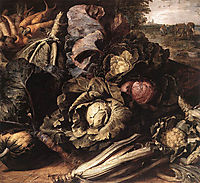 Vegetable Still Life, c.1600, snyders