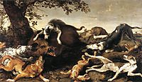 Wild Boar Hunt, snyders