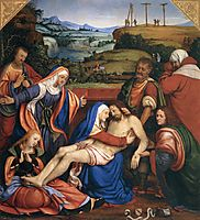 The Lamentation of Christ, c.1507, solario
