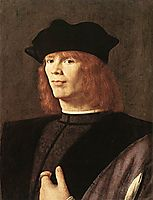 Portrait of a Man, c.1500, solario