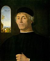 Portrait of a Man, c.1497, solario