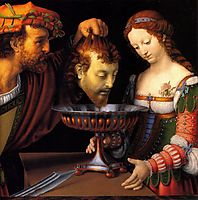 Salome with the head of John the Baptist, 1520, solario