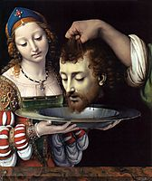 Salome with the head of St. John the Baptist, 1507, solario