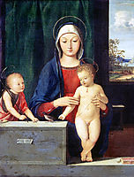 Virgin and Child, solario