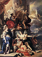 Allegory of a Reign, 1690, solimena