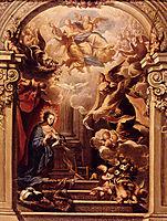 Annunciation, solimena