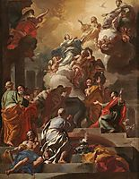 The Assumption and Coronation of the Virgin, 1690, solimena