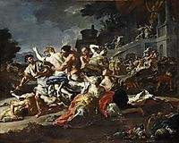 Battle between Lapiths and Centaurs, 1740, solimena