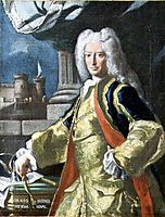 Count Alois Thomas Raimund Harrach, Viceroy of Naples, solimena