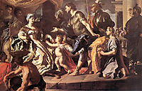 Dido Receiveng Aeneas and Cupid Disguised as Ascanius, 1720, solimena