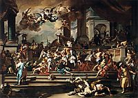 Expulsion of Heliodorus from the Temple, c.1725, solimena