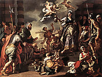 Judith with the Head of Holofernes, 1728, solimena