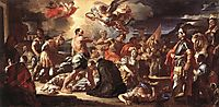 The Martyrdom of Sts Placidus and Flavia, 1708, solimena