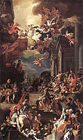 The Massacre of the Giustiniani at Chios, solimena