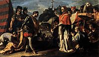 The Meeting of Pope Leo and Attila, solimena