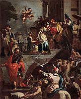 Rebecca Leaving Her Father's House, 1730, solimena