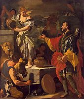 Rebecca and the Servant of Abraham, c.1710, solimena
