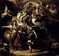 The Royal Hunt of Dido and Aeneas, solimena