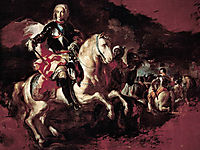 Triumph of Charles III at the Battle of Velletri, solimena