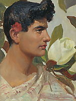 The head of the Roman youth, solomko