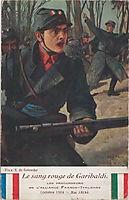 The red blood of Garibaldi, 1914, solomko