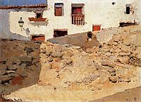 Adobe houses, sorolla