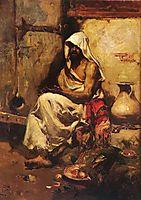 An Arab Examining a Pistol, sorolla
