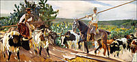 Andalusia, The Round Up, sorolla