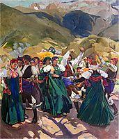 Aragón, Jota, 1914, sorolla