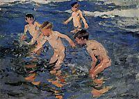 Bathing, sorolla