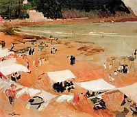 Beach at Zarauz, sorolla