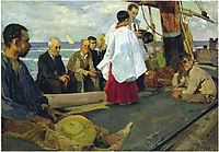 Blessing the Boat, 1895, sorolla